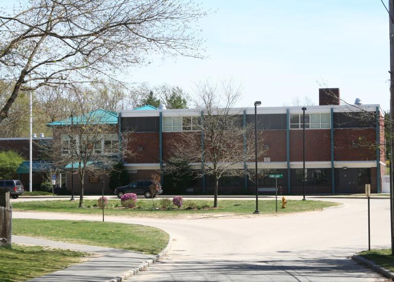 Academy school grounds