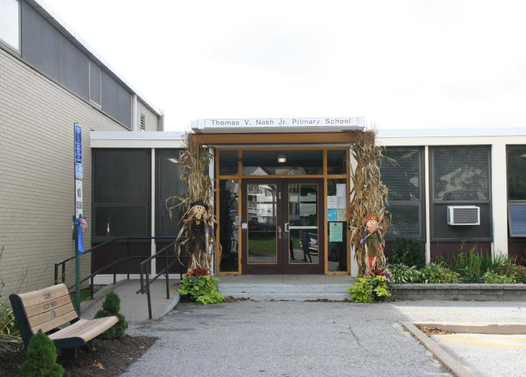Nash school entrance