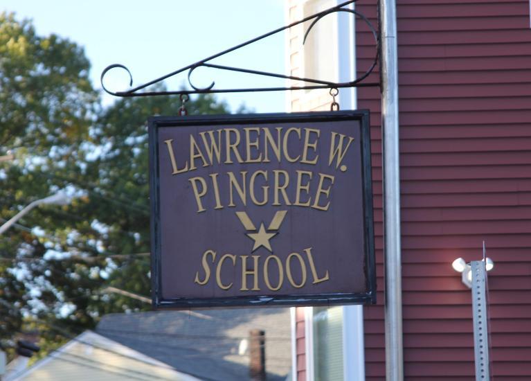 Pingree school sign
